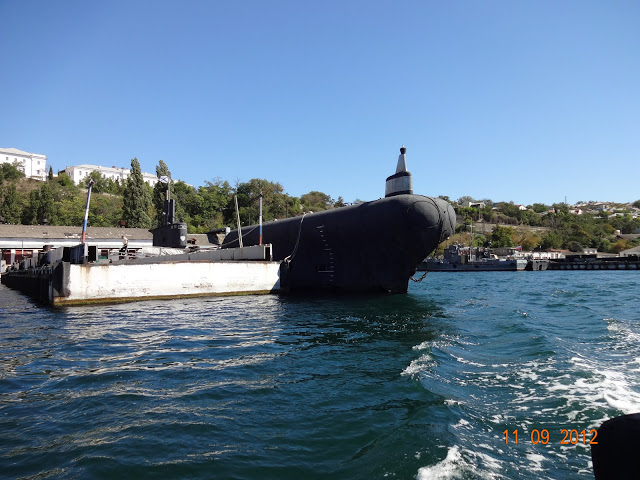 подводная лодка крым