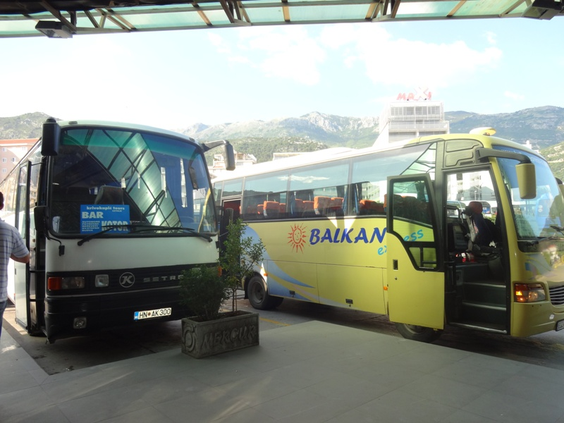 автобусная станция будва