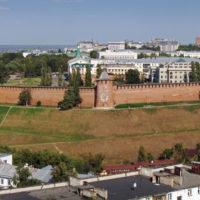 Прогулки по Нижнему Новгороду. Нижегородский Кремль.