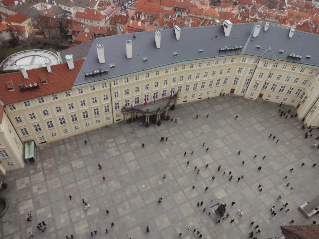 Прага храм святого вита изнутри
