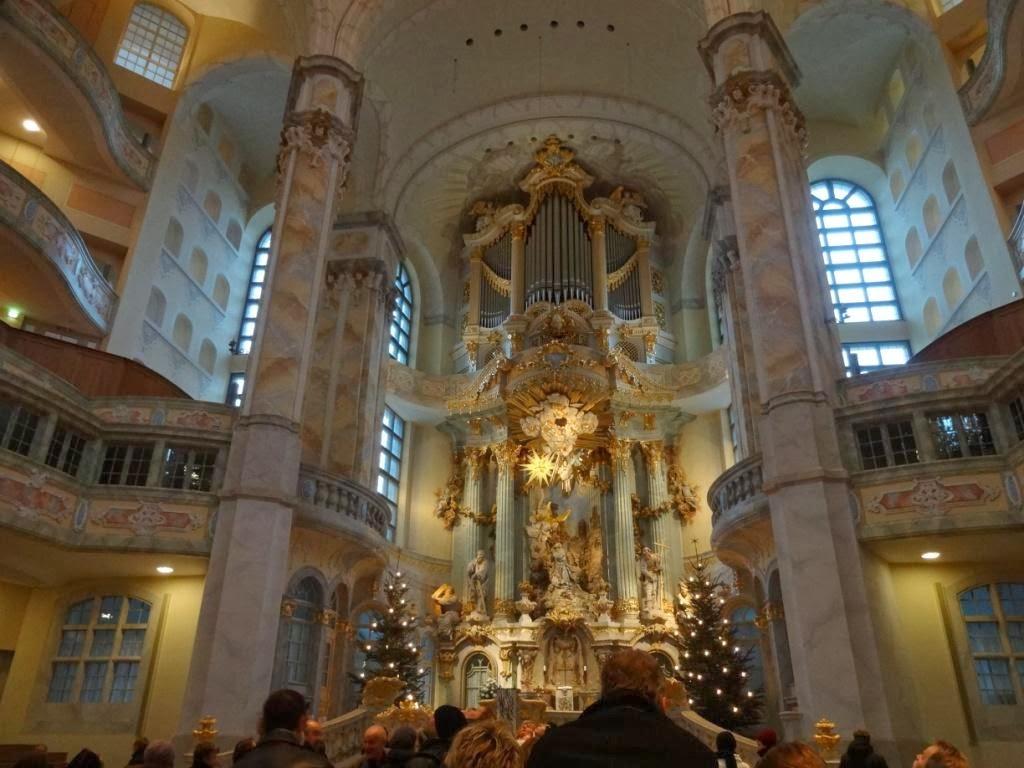 церковь Богородицы в дрездене вид изнутри
