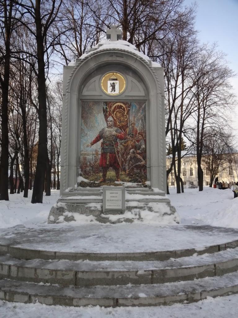 стела клятва князя Пожарского