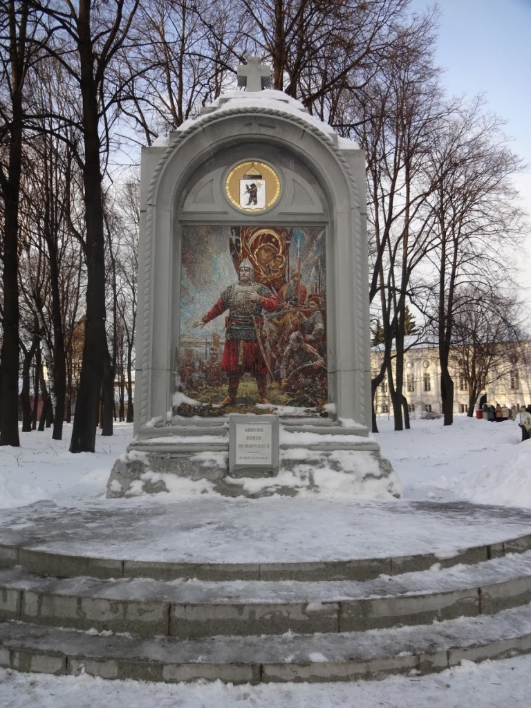 "стела ""Клятва Князя Пожарского"""