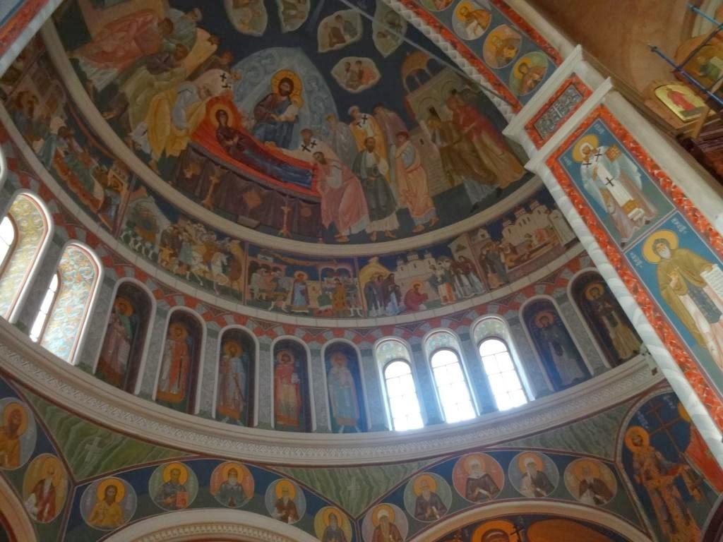 Вид изнутри в соборе Александра Невского Нижний Новгород