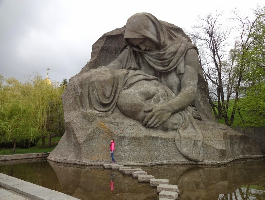 площадь скорби Мамаев курган