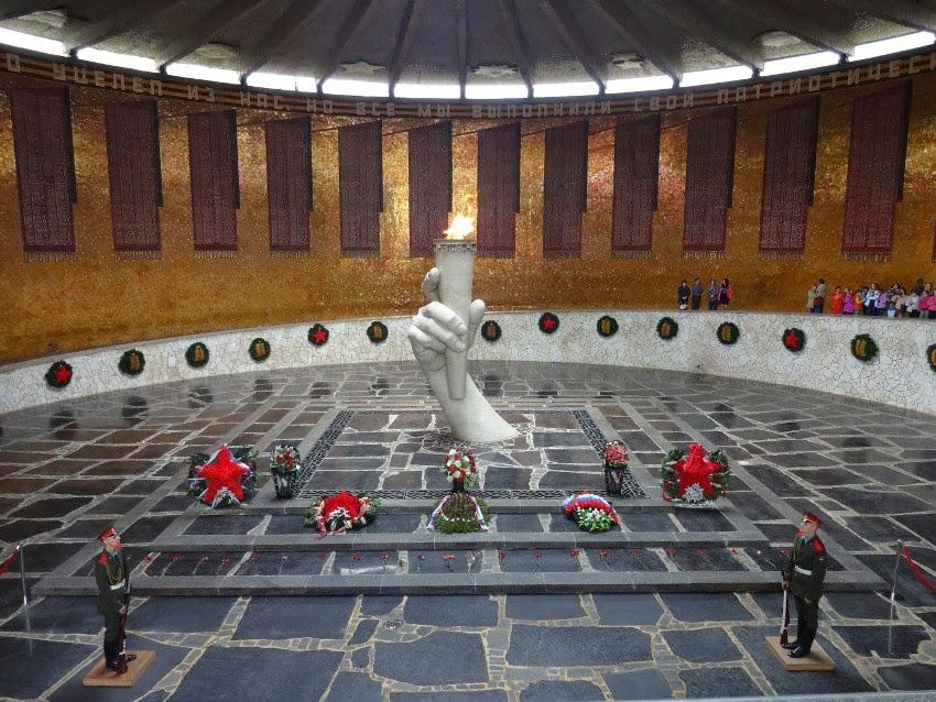 зал воинской славы Волгоград