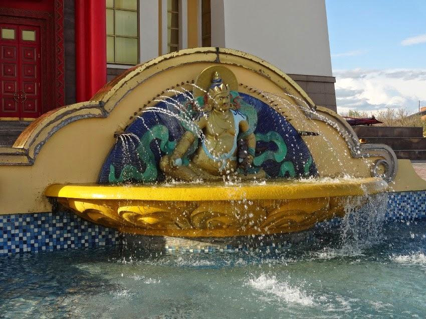 золотая обитель фонтан