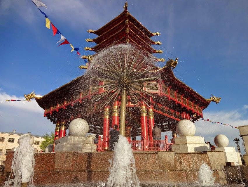 пагода Семи дней Элиста
