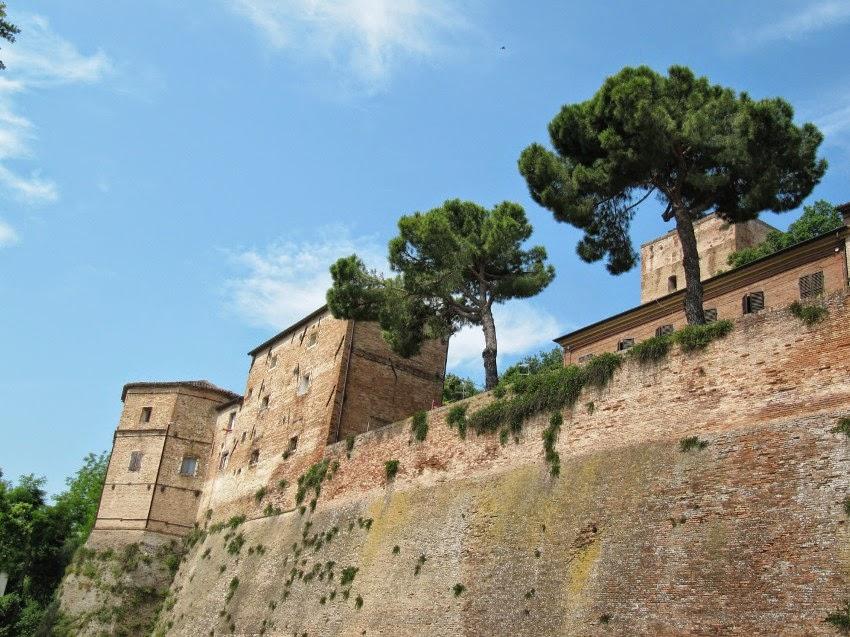 замок Малатеста Сантарканджело