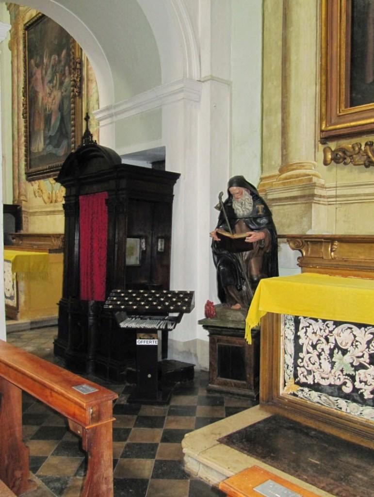 центральный собор Сантарканджело исповедальня