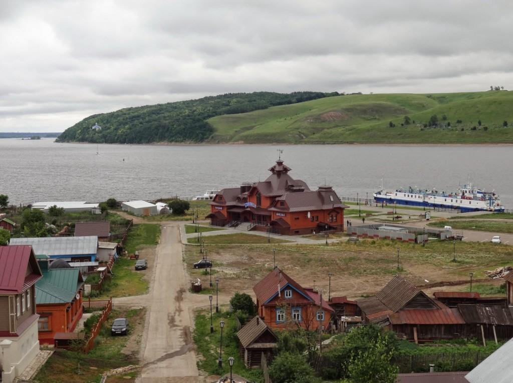 речной вокзал свияжска
