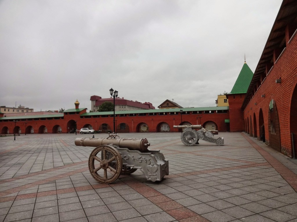 йошкар ола пушки в кремле