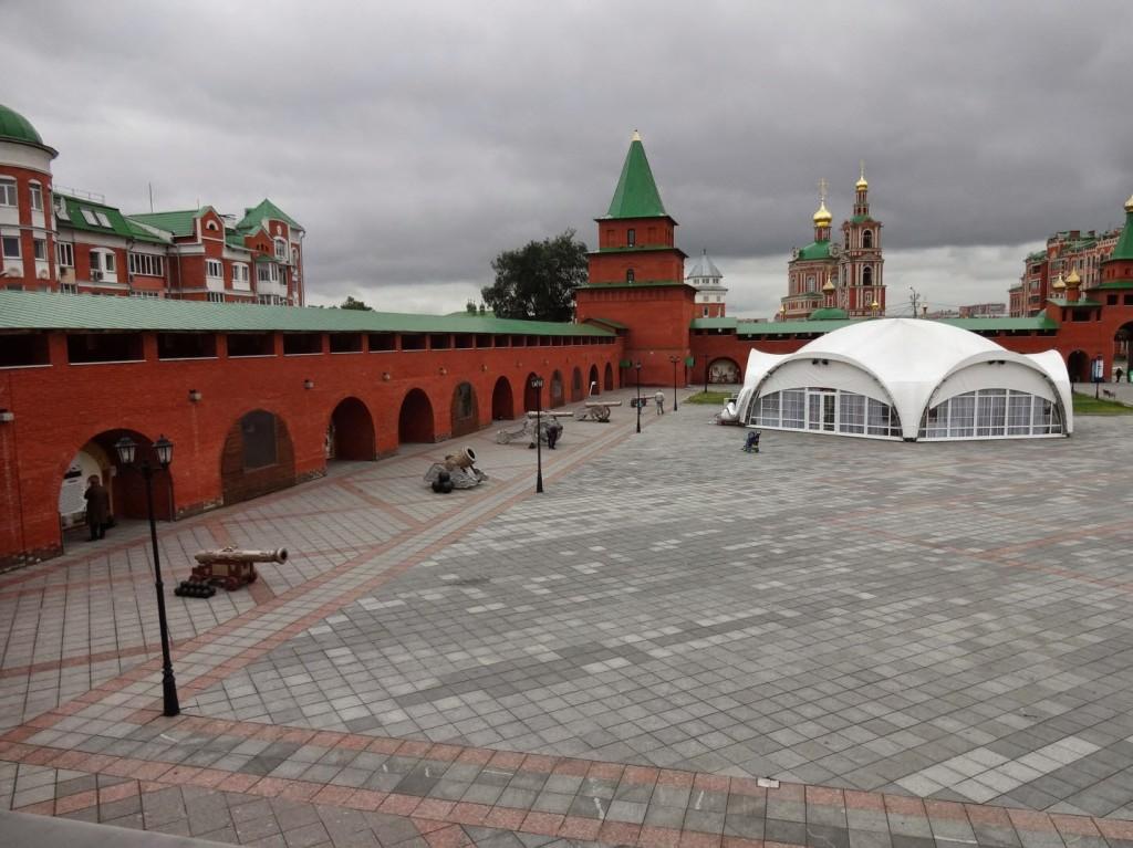 кремль йошкар ола вид со стены
