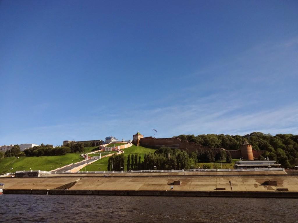 нижегородский кремль вид с реки
