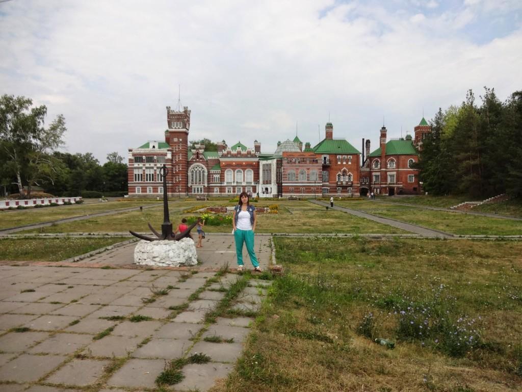 вид на замок Шереметева