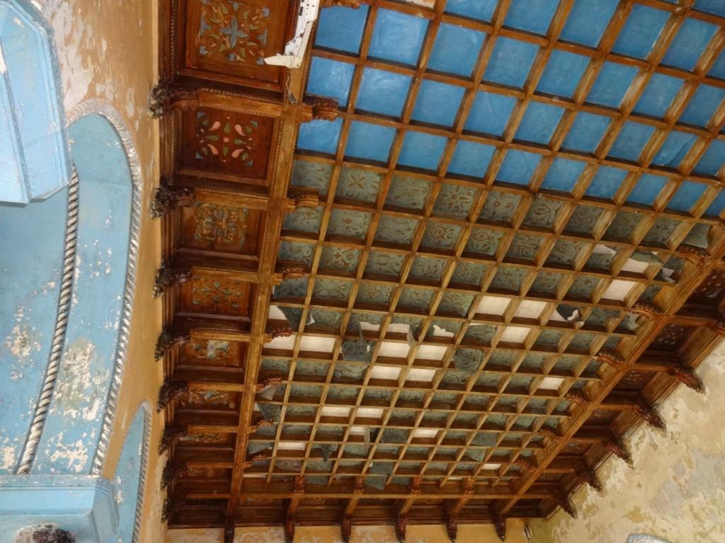 интерьер потолка замка шереметева