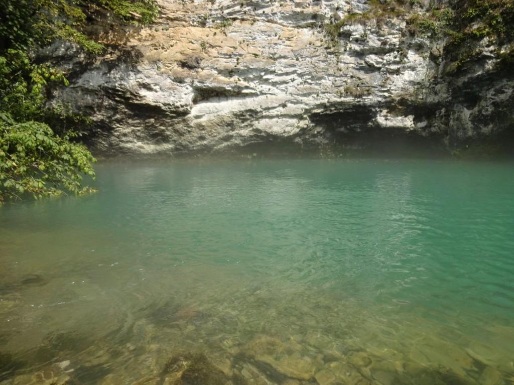 Абхазия Голубое озеро