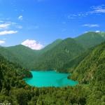 Экскурсия на озеро Рица в Абхазии (август 2014). Маршрут и основные путевые точки: Юпшарский каньон, Голубое озеро и 5 водопадов!