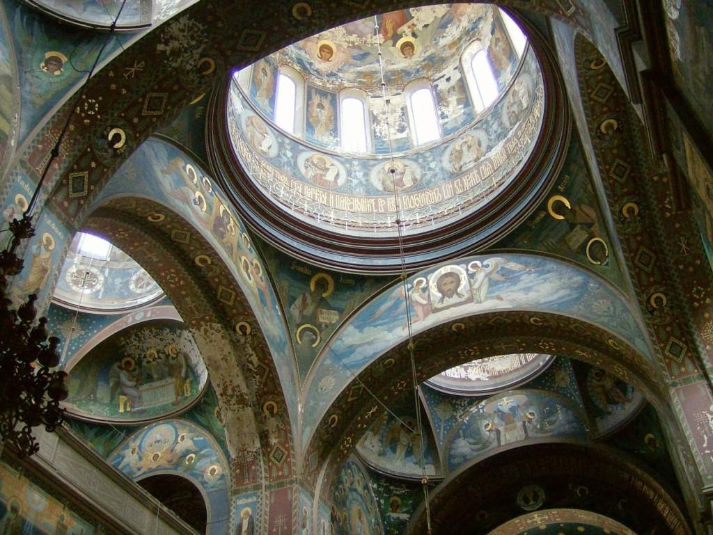 новоафонский монастырь фрески и роспись стен