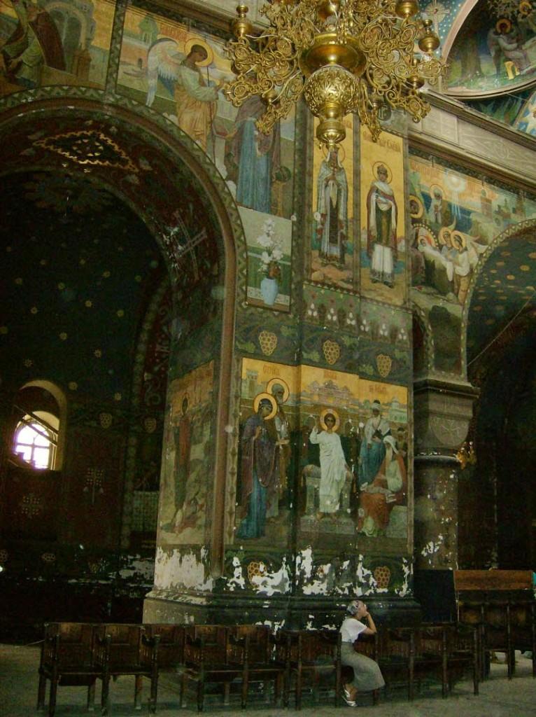 новоафонский монастырь роспись стен