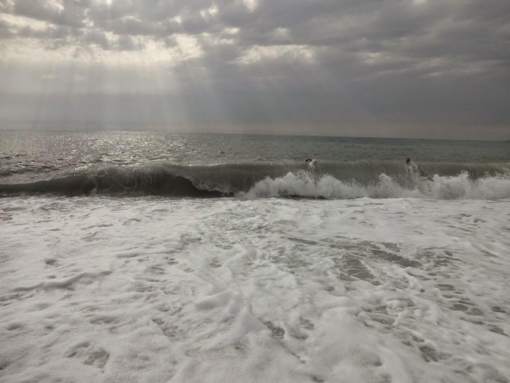 шторм Абхазия