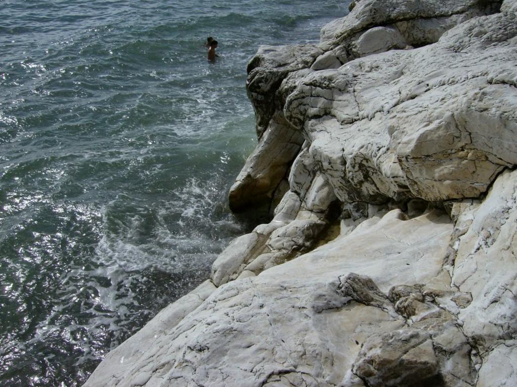 белые скалы Цандрипш