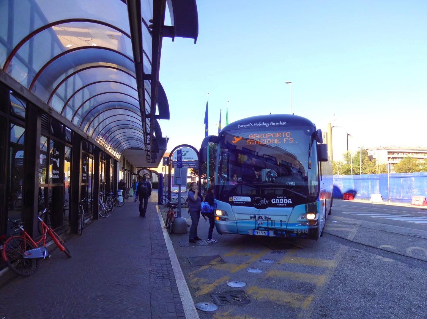 шатл аэропорт Верона