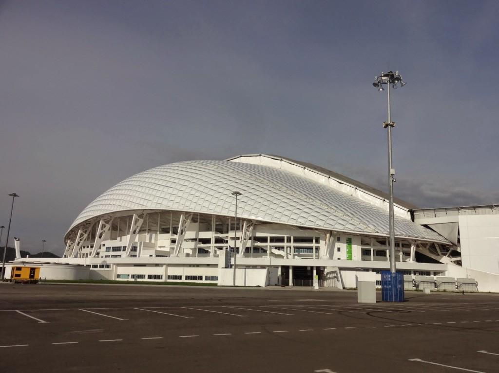 стадион Фишт в олимпийский парк сочи