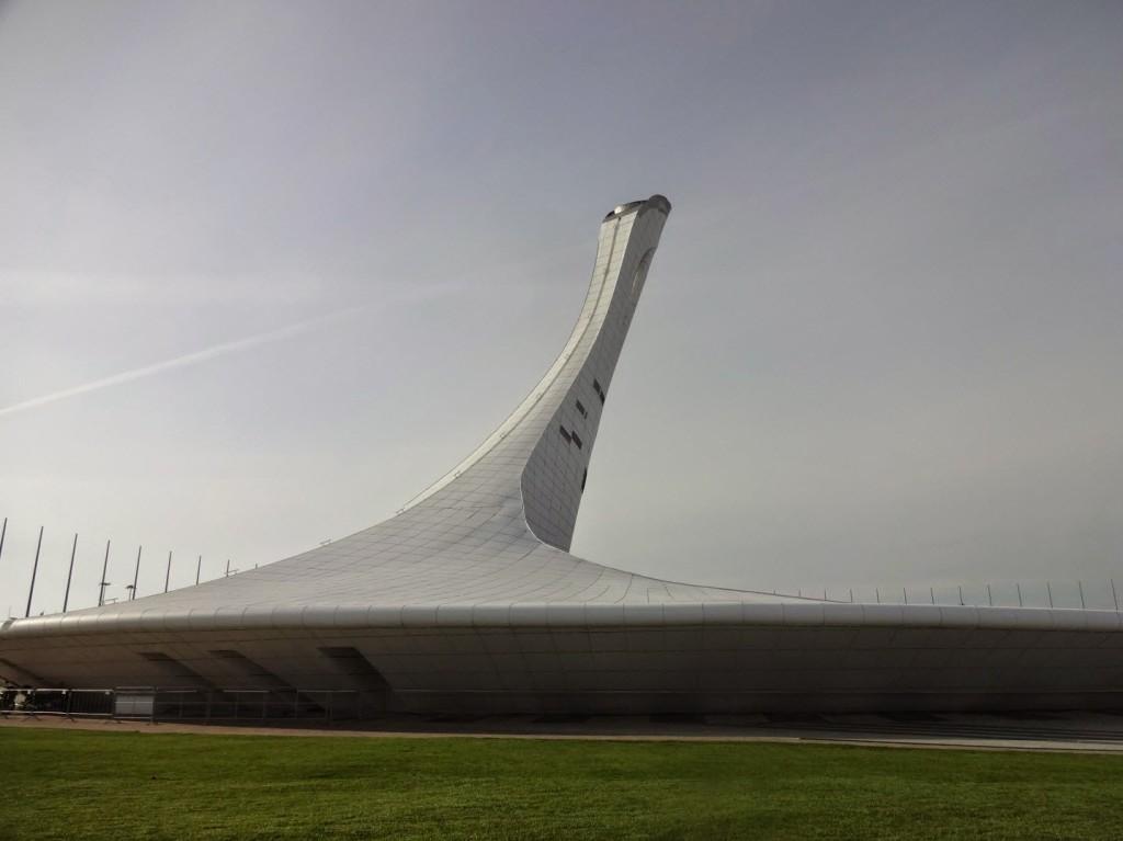 олимпийский парк сочи чаша олимпийского огня