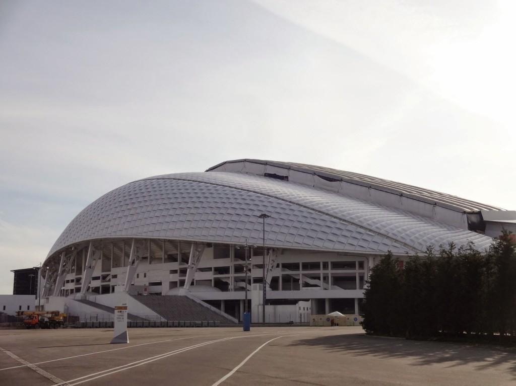 олимпийский парк сочи стадион Фишт