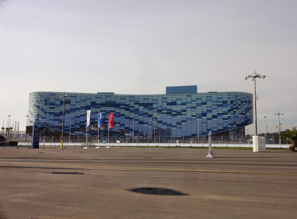 олимпийский парк сочи айсберг