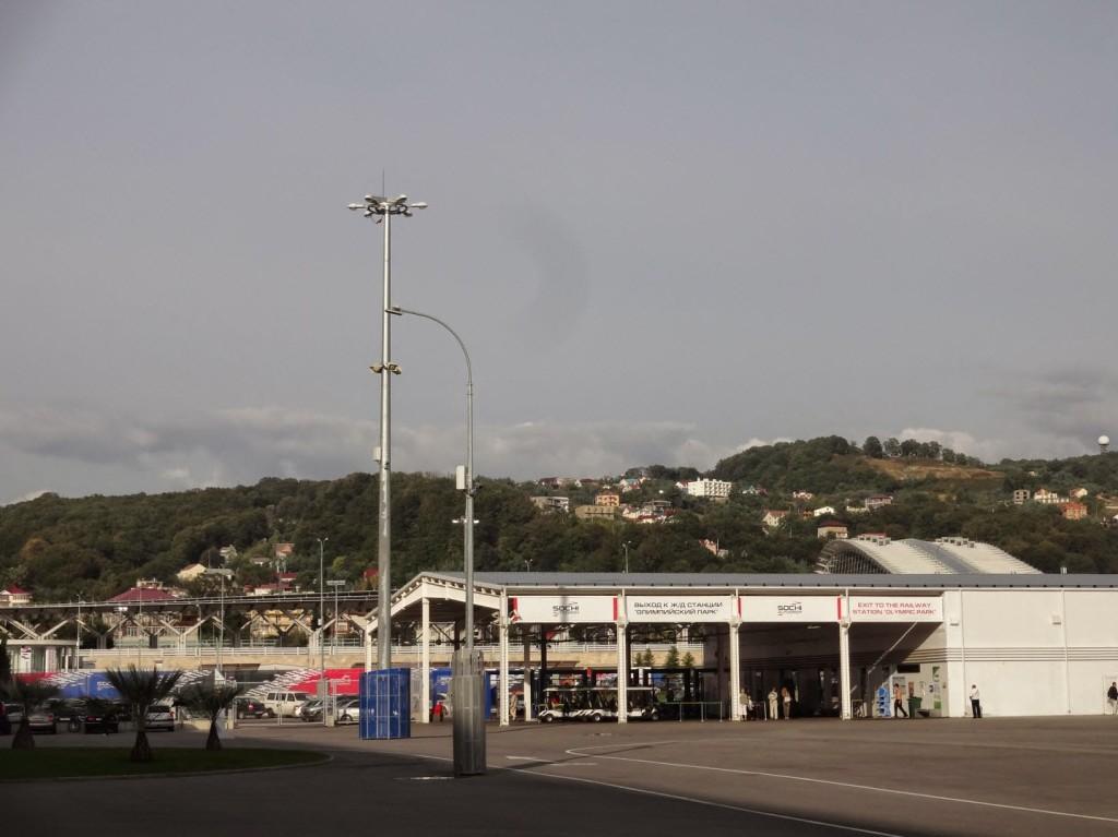 ж/д станция олимпийский парк