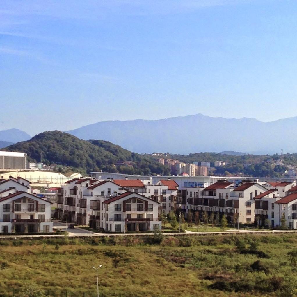 олимпийская деревня сочи