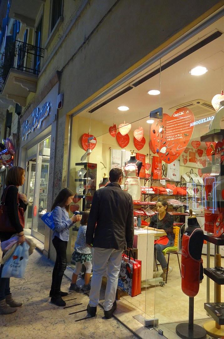 сувенирный магазин в вероне