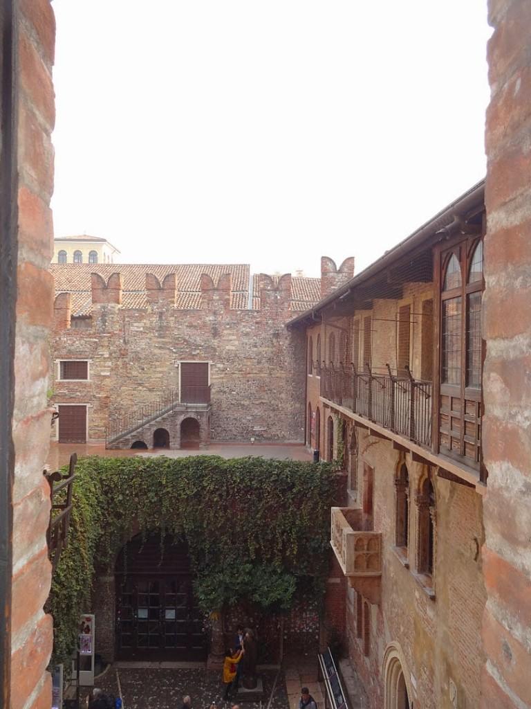 дворик джульетты вид сверху