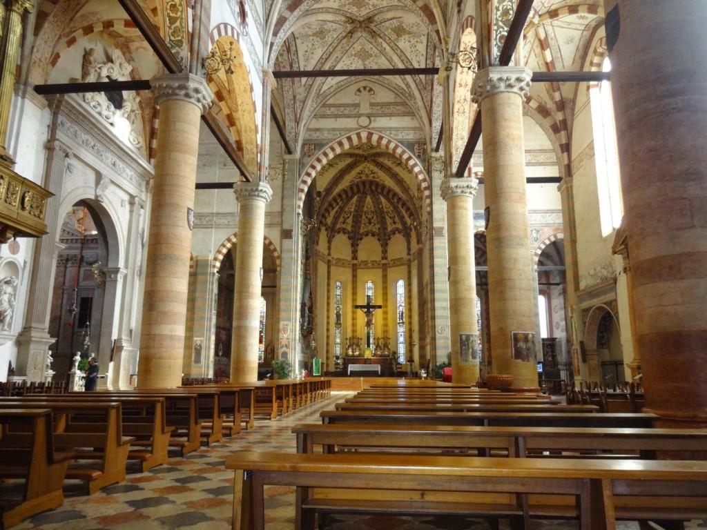 базилика анастасии внутри