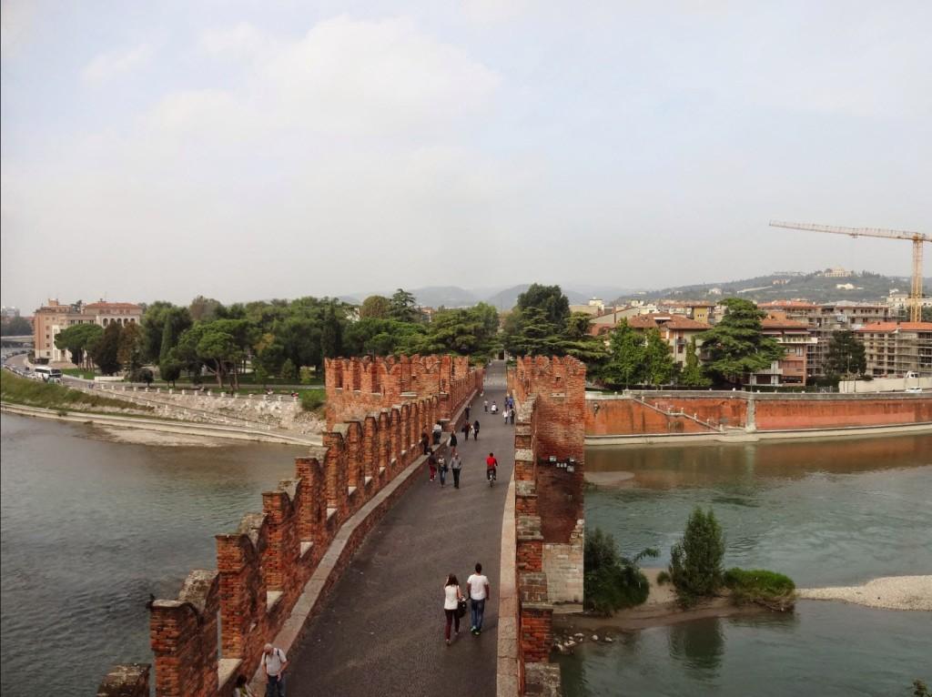 мост замок Кастельвеккио