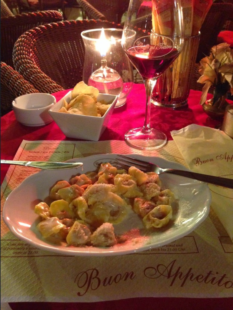 ужин в Вероне