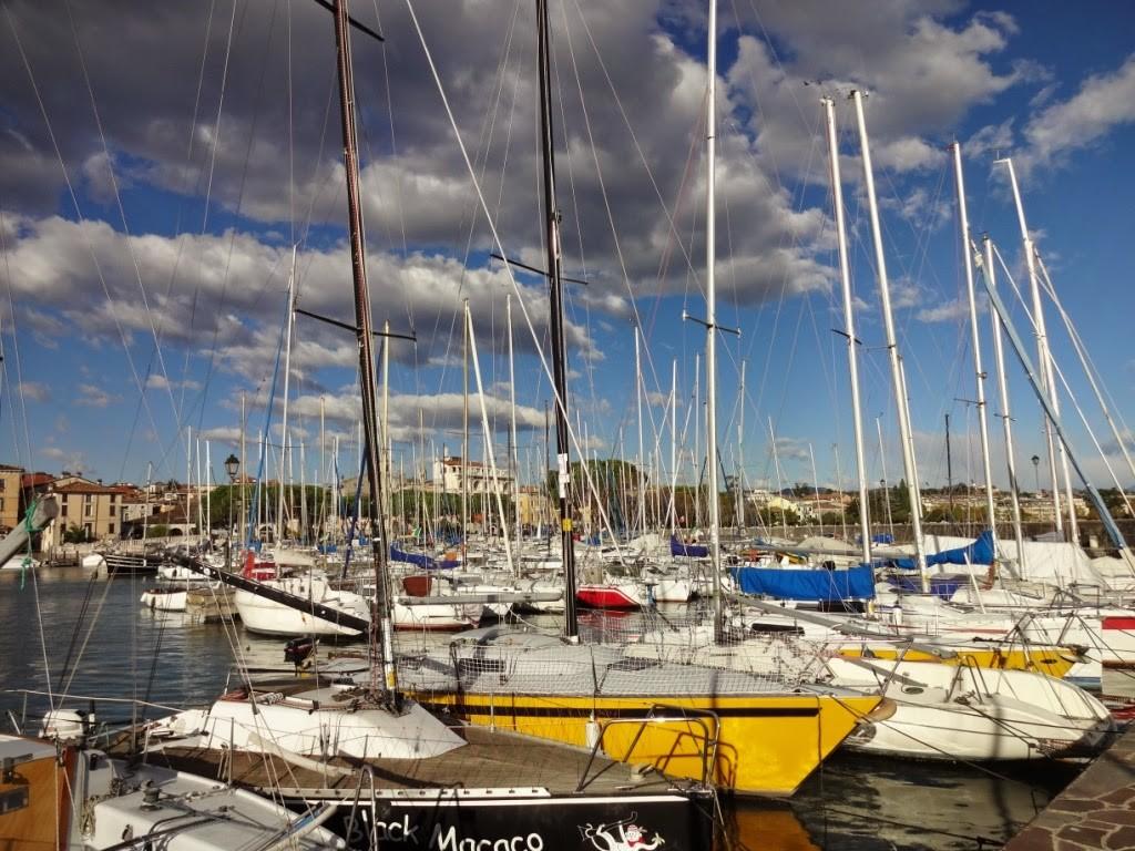 Дезенцано дель гарда яхты
