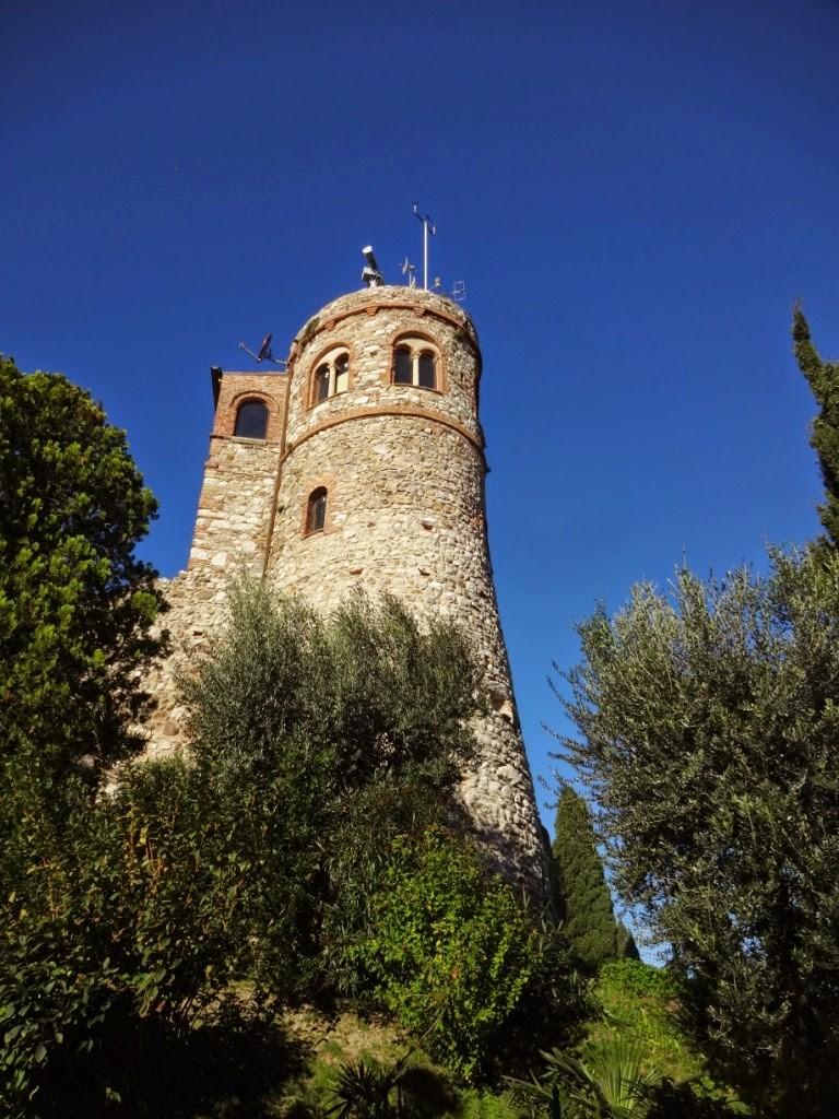 башня замка в Дезенцано дель гарда