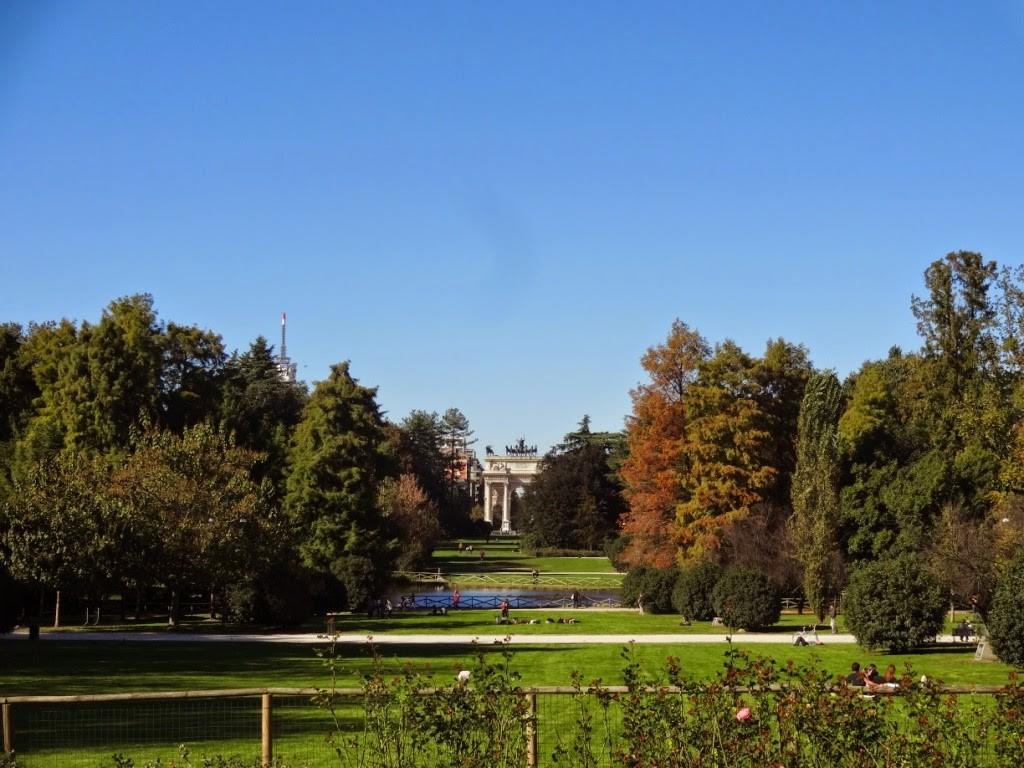 парк семпионе арка мира милан
