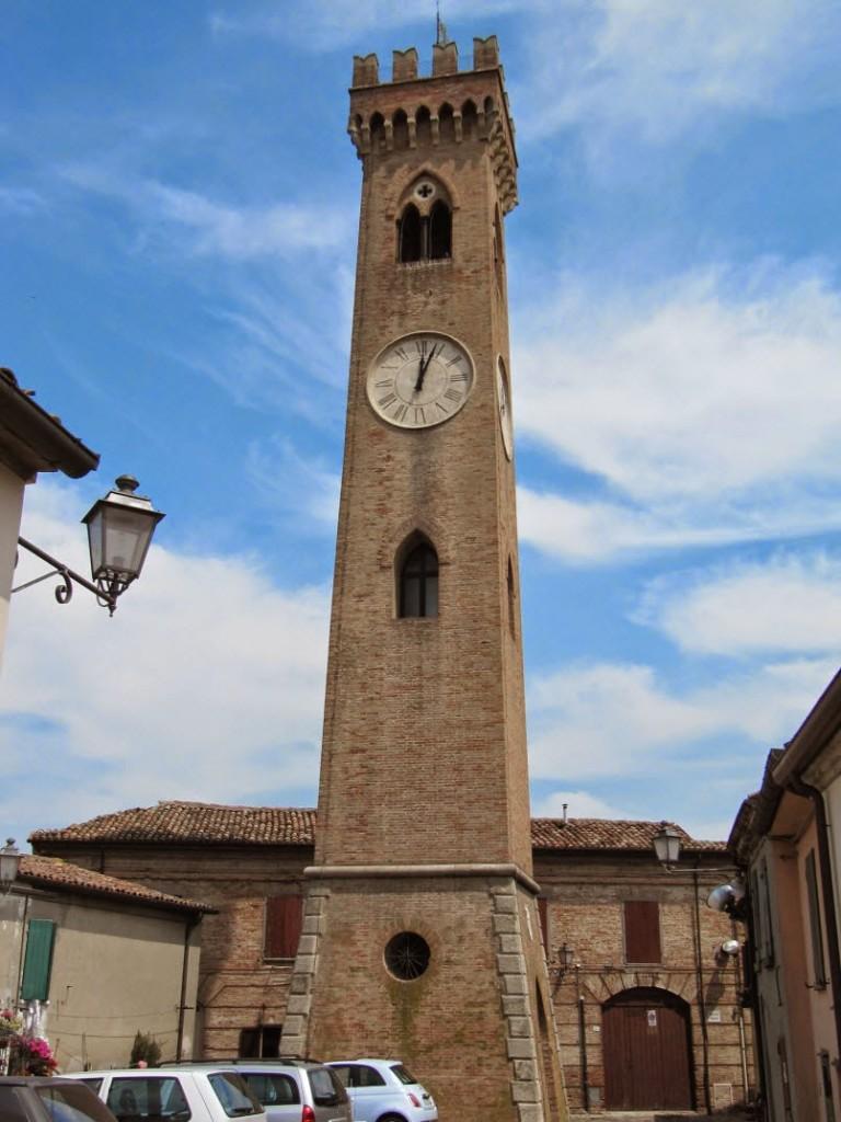 часы на колокольне сантарканджело