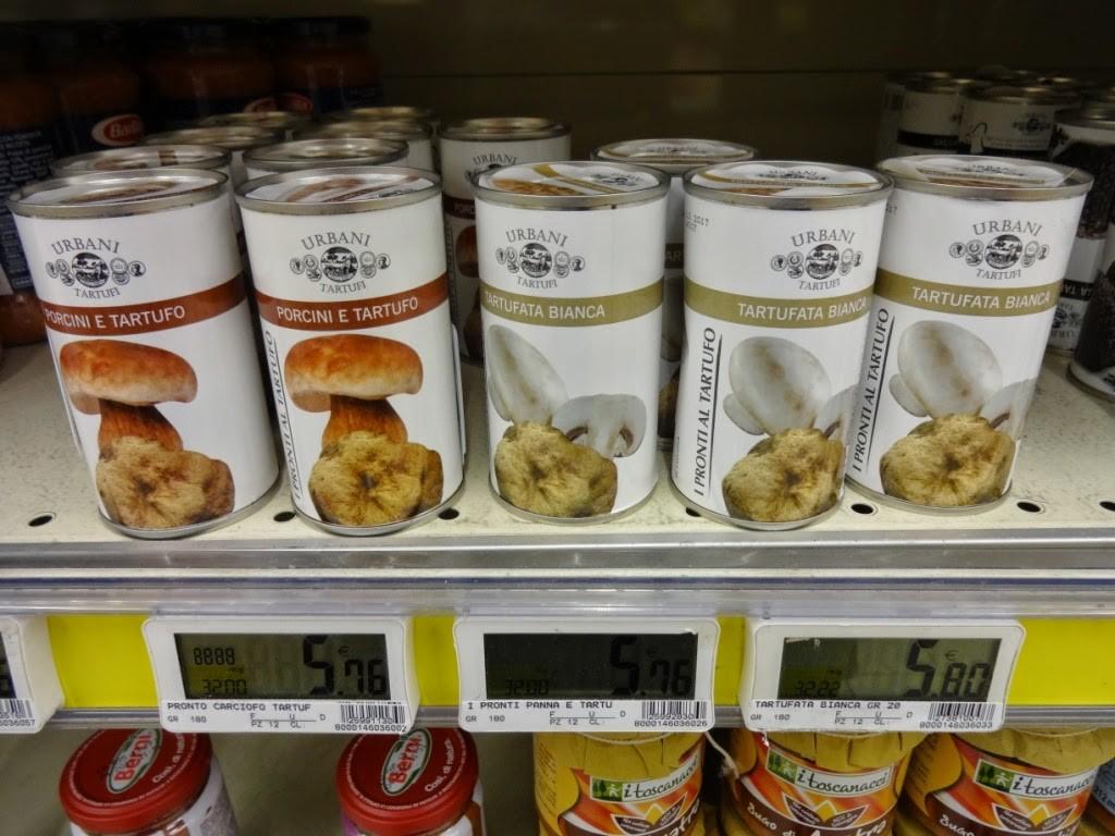 трюфели консервы италия