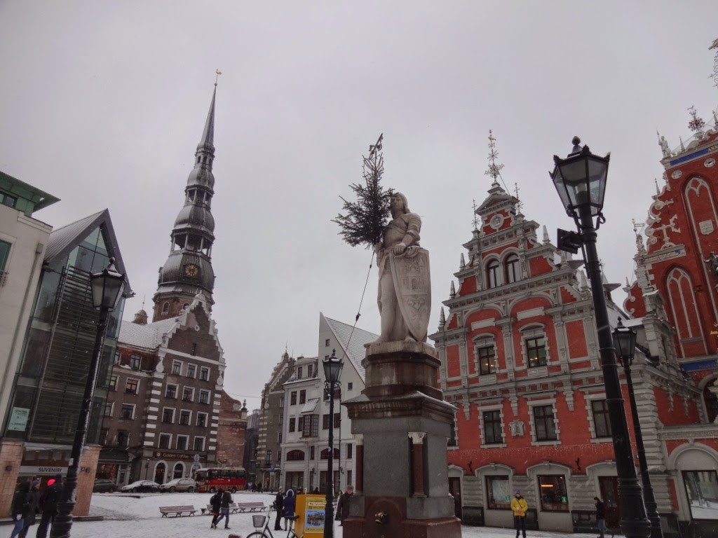 ратушная площадь рига