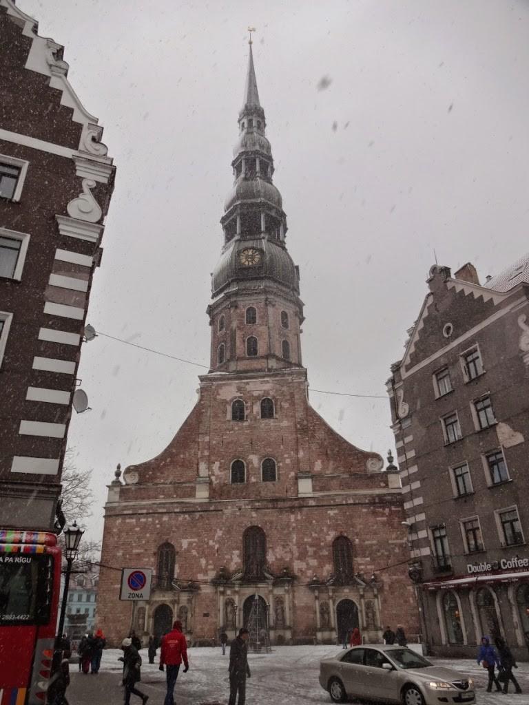 церковь святого петра рига