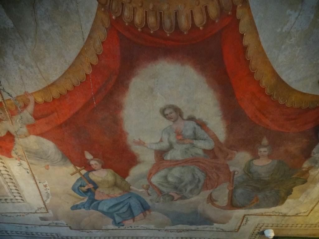 дом купца Менцендорфа фрески