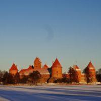 Тракайский замок (Литва).