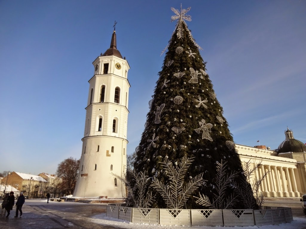 кафедральная площадь вильнюс