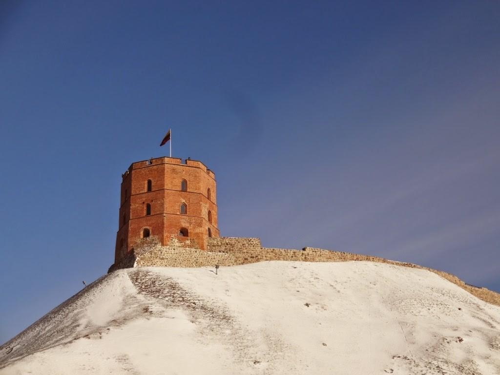 вильнюс башня гедеминаса