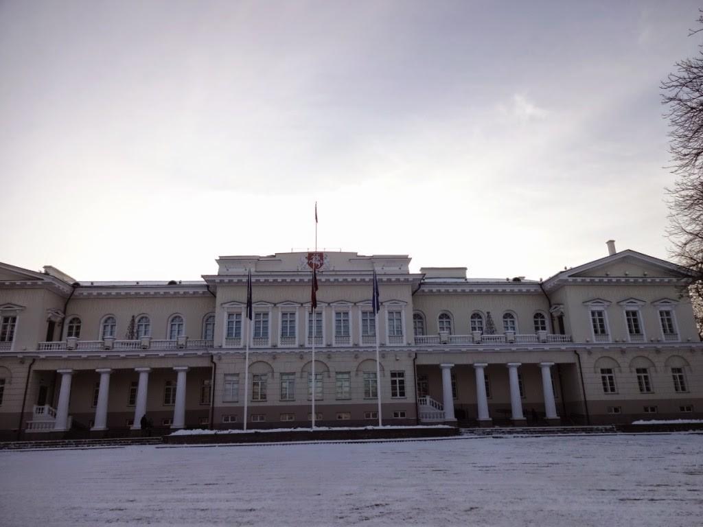 вильнюс президентский дворец